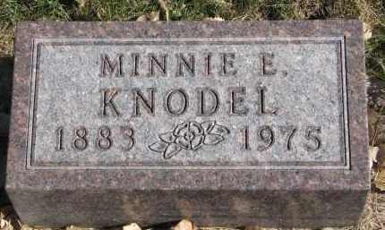 KNODEL, MINNIE E. - Yankton County, South Dakota | MINNIE E. KNODEL - South Dakota Gravestone Photos