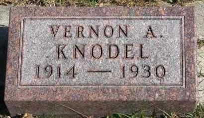 KNODEL, VERNON A. - Yankton County, South Dakota | VERNON A. KNODEL - South Dakota Gravestone Photos