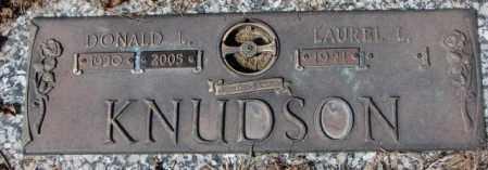 KNUDSON, DONALD L. - Yankton County, South Dakota | DONALD L. KNUDSON - South Dakota Gravestone Photos