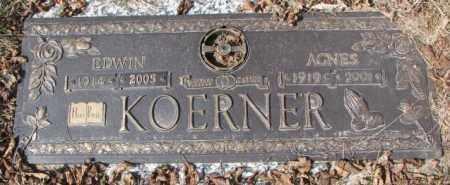 KOERNER, AGNES - Yankton County, South Dakota | AGNES KOERNER - South Dakota Gravestone Photos