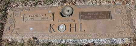 KOHL, ELDRED L. - Yankton County, South Dakota | ELDRED L. KOHL - South Dakota Gravestone Photos