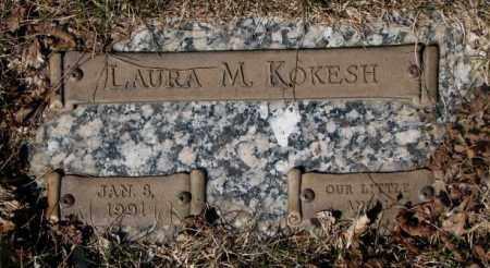 KOKESH, LAURA M. - Yankton County, South Dakota | LAURA M. KOKESH - South Dakota Gravestone Photos