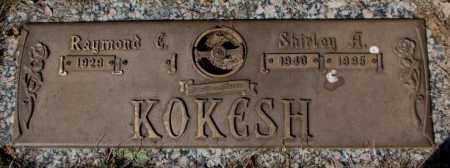KOKESH, SHIRLEY A. - Yankton County, South Dakota | SHIRLEY A. KOKESH - South Dakota Gravestone Photos