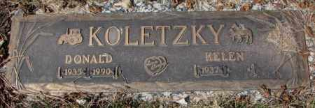 KOLETZKY, HELEN - Yankton County, South Dakota | HELEN KOLETZKY - South Dakota Gravestone Photos