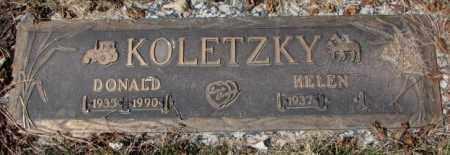 KOLETZKY, HELEN - Yankton County, South Dakota | HELEN KOLETZKY - South Dakota Gravestone Photos