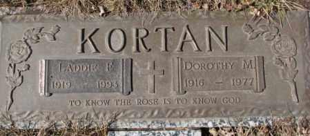 KORTAN, DOROTHY M. - Yankton County, South Dakota | DOROTHY M. KORTAN - South Dakota Gravestone Photos