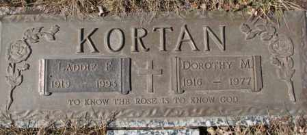 KORTAN, DOROTHY M. - Yankton County, South Dakota | DOROTHY M. KORTAN - South Dakota Gravestone Photos