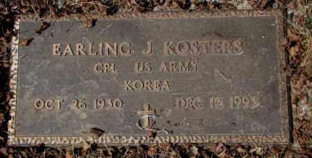 KOSTERS, EARLING J. - Yankton County, South Dakota | EARLING J. KOSTERS - South Dakota Gravestone Photos