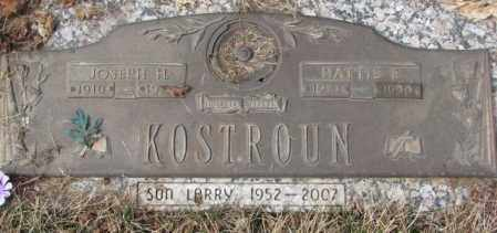 KOSTROUN, HATTIE E. - Yankton County, South Dakota | HATTIE E. KOSTROUN - South Dakota Gravestone Photos