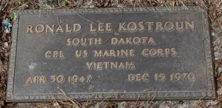KOSTROUN, RONALD LEE - Yankton County, South Dakota | RONALD LEE KOSTROUN - South Dakota Gravestone Photos
