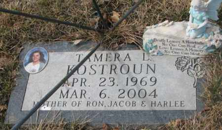 KOSTROUN, TAMERA L. - Yankton County, South Dakota | TAMERA L. KOSTROUN - South Dakota Gravestone Photos