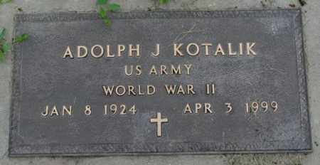 KOTALIK, ADOLPH J. - Yankton County, South Dakota | ADOLPH J. KOTALIK - South Dakota Gravestone Photos