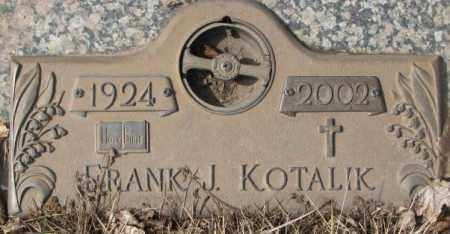 KOTALIK, FRANK J. - Yankton County, South Dakota | FRANK J. KOTALIK - South Dakota Gravestone Photos