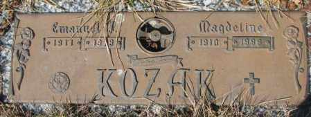 KOZAK, MAGDELINE - Yankton County, South Dakota   MAGDELINE KOZAK - South Dakota Gravestone Photos