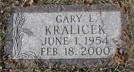 KRALICEK, GARY L. - Yankton County, South Dakota | GARY L. KRALICEK - South Dakota Gravestone Photos