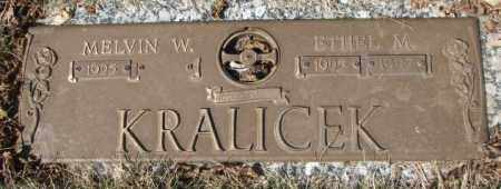 KRALICEK, ETHEL M. - Yankton County, South Dakota | ETHEL M. KRALICEK - South Dakota Gravestone Photos