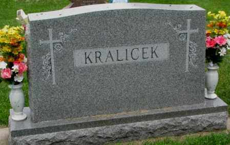 KRALICEK, PLOT - Yankton County, South Dakota | PLOT KRALICEK - South Dakota Gravestone Photos