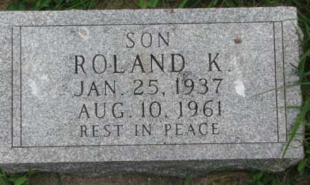 KRALICEK, ROLAND K. - Yankton County, South Dakota | ROLAND K. KRALICEK - South Dakota Gravestone Photos