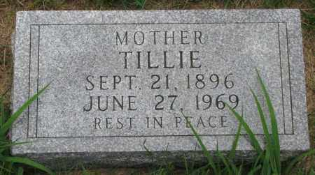 KRALICEK, TILLIE - Yankton County, South Dakota | TILLIE KRALICEK - South Dakota Gravestone Photos