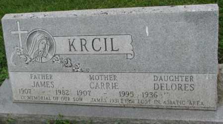 KRCIL, DELORES - Yankton County, South Dakota | DELORES KRCIL - South Dakota Gravestone Photos