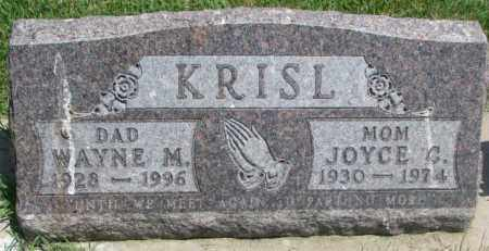 KRISL, JOYCE C. - Yankton County, South Dakota | JOYCE C. KRISL - South Dakota Gravestone Photos