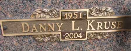 KRUSE, DANNY L. - Yankton County, South Dakota | DANNY L. KRUSE - South Dakota Gravestone Photos