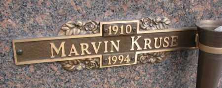 KRUSE, MARVIN - Yankton County, South Dakota | MARVIN KRUSE - South Dakota Gravestone Photos