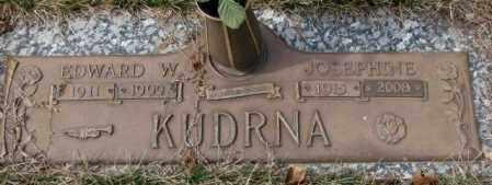 KUDRNA, JOSEPHINE - Yankton County, South Dakota | JOSEPHINE KUDRNA - South Dakota Gravestone Photos