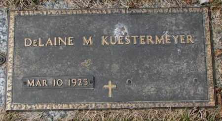 KUESTERMEYER, DELAINE M. - Yankton County, South Dakota | DELAINE M. KUESTERMEYER - South Dakota Gravestone Photos