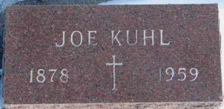 KUHL, JOE - Yankton County, South Dakota | JOE KUHL - South Dakota Gravestone Photos