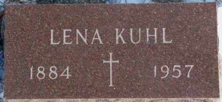 KUHL, LENA - Yankton County, South Dakota | LENA KUHL - South Dakota Gravestone Photos