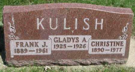 KULISH, CHRISTINE - Yankton County, South Dakota | CHRISTINE KULISH - South Dakota Gravestone Photos