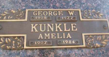 KUNKLE, AMELIA - Yankton County, South Dakota | AMELIA KUNKLE - South Dakota Gravestone Photos