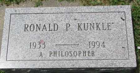 KUNKLE, RONALD P. - Yankton County, South Dakota | RONALD P. KUNKLE - South Dakota Gravestone Photos