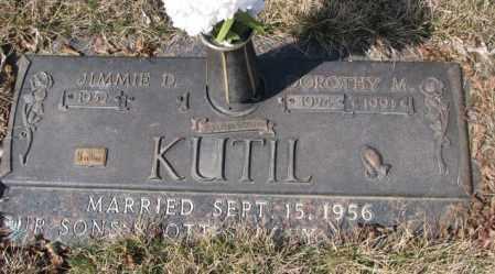 KUTIL, JIMMIE D. - Yankton County, South Dakota | JIMMIE D. KUTIL - South Dakota Gravestone Photos