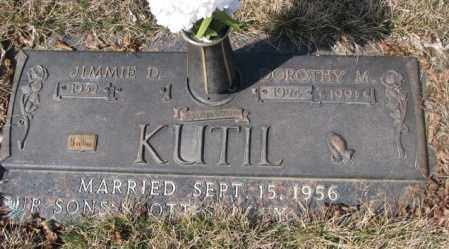 KUTIL, JIMMIE D. - Yankton County, South Dakota | JIMMIE D. KUTIL - South Dakota Gravestone Photos