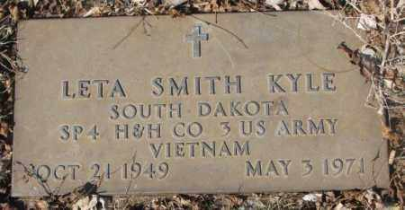 SMITH KYLE, LETA - Yankton County, South Dakota | LETA SMITH KYLE - South Dakota Gravestone Photos
