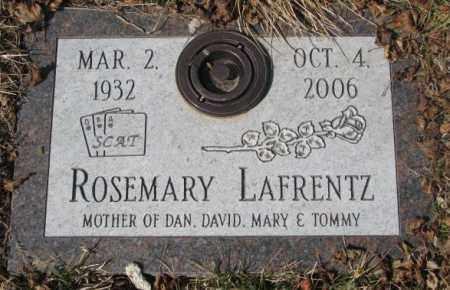 LAFRENTZ, ROSEMARY - Yankton County, South Dakota | ROSEMARY LAFRENTZ - South Dakota Gravestone Photos