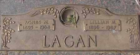 LAGAN, AGNES M. - Yankton County, South Dakota | AGNES M. LAGAN - South Dakota Gravestone Photos