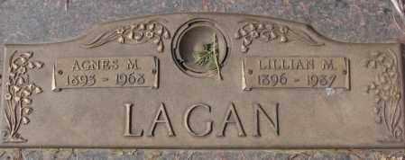 LAGAN, AGNES M. - Yankton County, South Dakota | AGNES M. LAGAN - South Dakota Gravestone Photos
