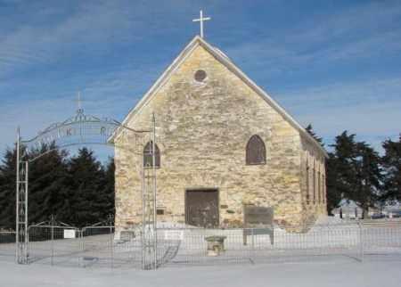 ****LAKEPORT, HISTORIC CHURCH - Yankton County, South Dakota   HISTORIC CHURCH ****LAKEPORT - South Dakota Gravestone Photos