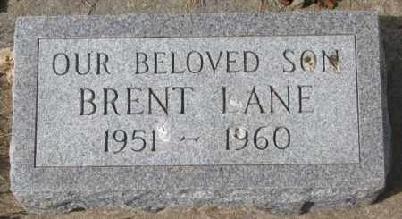 LANE, BRENT - Yankton County, South Dakota | BRENT LANE - South Dakota Gravestone Photos