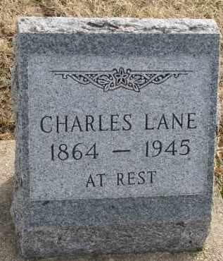 LANE, CHARLES - Yankton County, South Dakota | CHARLES LANE - South Dakota Gravestone Photos