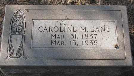 LANE, CAROLINE M. - Yankton County, South Dakota | CAROLINE M. LANE - South Dakota Gravestone Photos