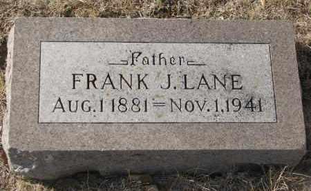 LANE, FRANK J. - Yankton County, South Dakota | FRANK J. LANE - South Dakota Gravestone Photos