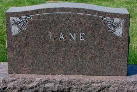LANE, FAMILY PLOT MARKER - Yankton County, South Dakota   FAMILY PLOT MARKER LANE - South Dakota Gravestone Photos