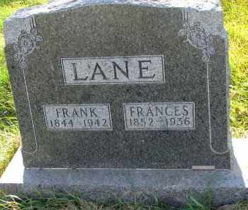 LANE, FRANK - Yankton County, South Dakota | FRANK LANE - South Dakota Gravestone Photos