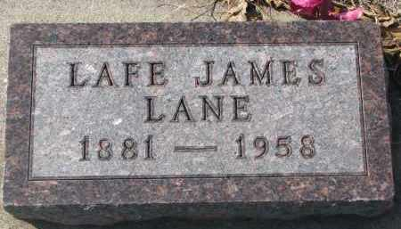 LANE, LAFE - Yankton County, South Dakota | LAFE LANE - South Dakota Gravestone Photos