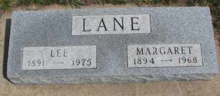 LANE, LEE - Yankton County, South Dakota | LEE LANE - South Dakota Gravestone Photos