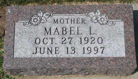 LANE, MABEL L. - Yankton County, South Dakota | MABEL L. LANE - South Dakota Gravestone Photos